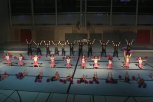 """Soirée de gym AGL - L-B 21 novembre 2015 - Vieux-Moulin """" Retour vers le futur. """""""