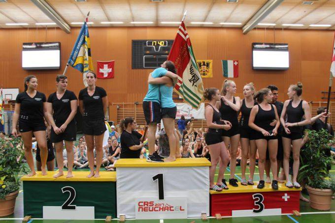 Championnats Romands de Gymnastique de société à Neuchâtel